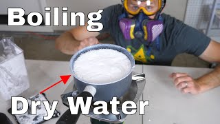 Is it Possible to Boil Powdered Water?