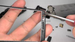 Nokia Lumia 620 Disassembly & Assembly - Digitizer Touch Screen & Display Replacement