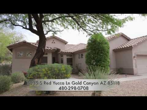 5235 S Red Yucca Lane Gold Canyon AZ 85118 - Russ Wald, West USA Realty