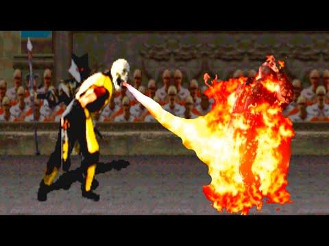 Mortal Kombat X MK1/2 Klassic & MK1/2 Original Fatalities
