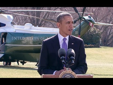 President Obama Speaks on Ukraine