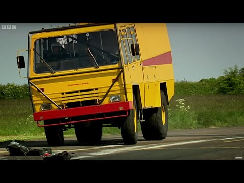 Airport vehicle racing - Now in Full HD - Top Gear series 14 - BBC