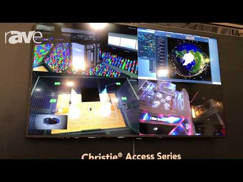 Educause 2017: Christie Showcases Christie Access Series Flat Panel for Descret Applications