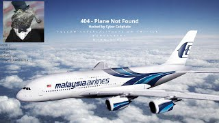 Lizard Squad Hacks Malaysia Airlines Website