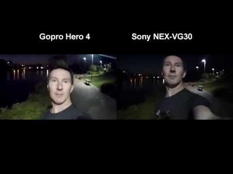 GoPro Hero 4 Silver/Black Low Light Performance Test