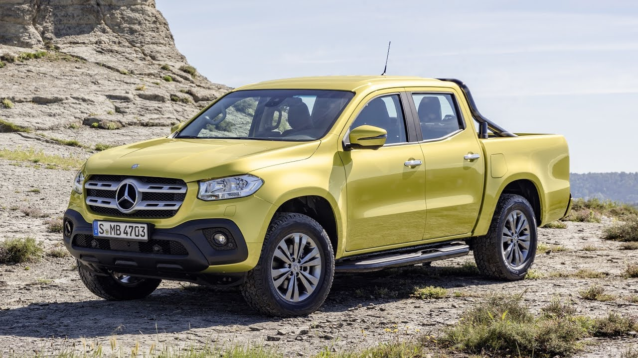 Mercedes-Benz unveils its first pickup, but it's not coming to Canada