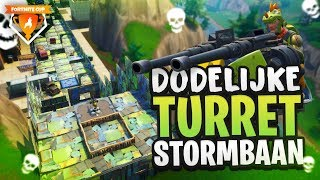 DODELIJKE TURRET STORMBAAN - Fortnite Cup Mini-Game week 3