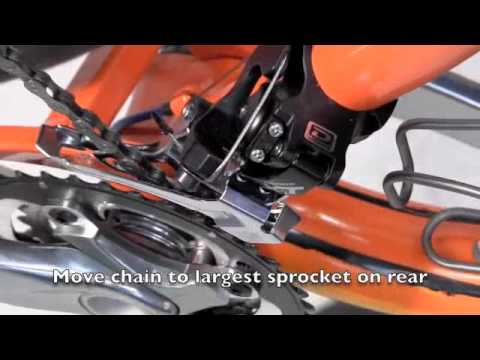 How to Build a Bike - Part 10 of 12: Front Derailleur Adjustment