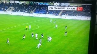 Faton Toski Goal under FSV Frankfurt