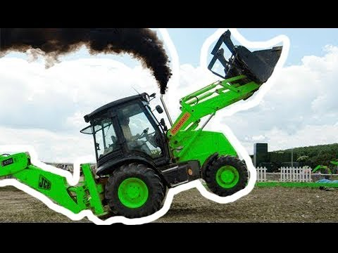 Amazing Videos Showing Tractor Stunt Goes Very Bad video
