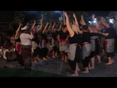 Fantastic Kecak Balimodule despite beginner