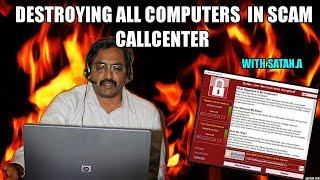 Destroying All Computers On Scammers Network