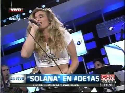 C5N - MUSICA EN VIVO: SOLANA EN DE 1 A 5 (PARTE 2)