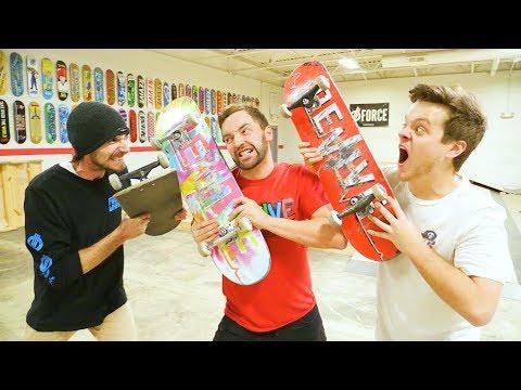 New Game Of Skate War! / Andy VS Alex VS Casey