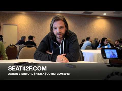 Aaron Stanford Comic Con 2012 Interview