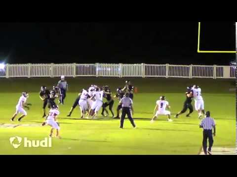 Tyler Jordan Junior Year Highlights (2015 OL/DL Bishop Kenny High School)