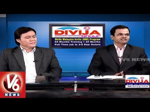 Career Point | Study Hotel Management course in Malaysia | Divija Group | V6 News