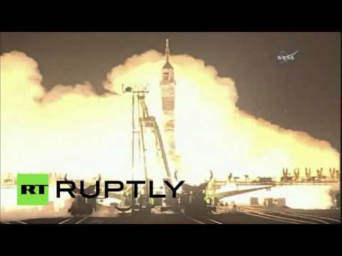 Blast-off! Soyuz launch takes new crew to Intl. Space Station