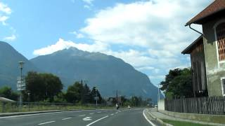 Driving from Germany to Italy