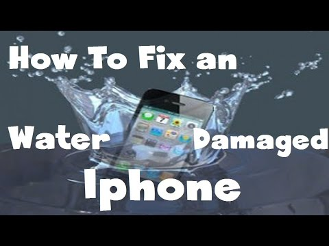 How to fix water damaged iPhone (Any iPhone)