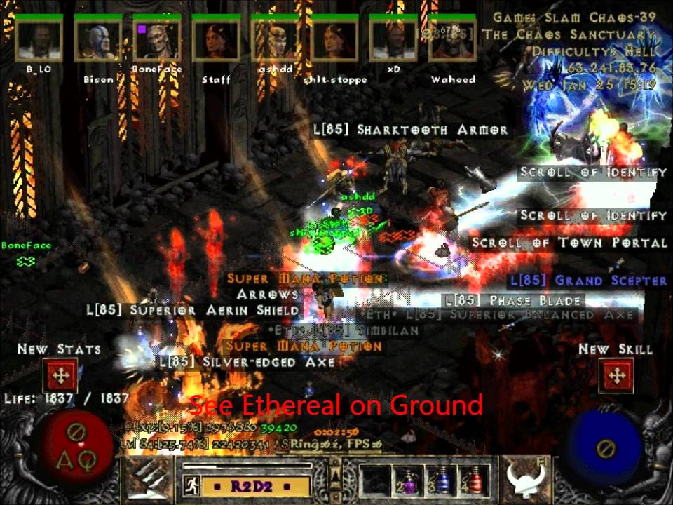 Diablo 2 Lod Maphack Patch 113th