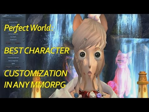 Best Character Customization in an MMORPG Ever - Perfect World