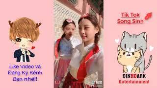 Cặp Chị Em Song Sinh Được Yêu Mến Nhất Tik Tok Trung Quốc - Văn Văn Đình Đình p2