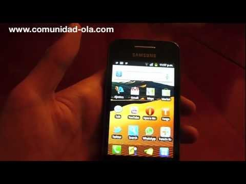 Reseña/Review Samsung Galaxy Ace Español