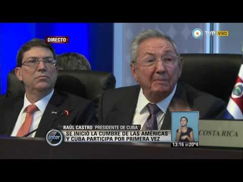 V7inter - VII Cumbre de las Américas en Panamá: discurso de Raúl Castro
