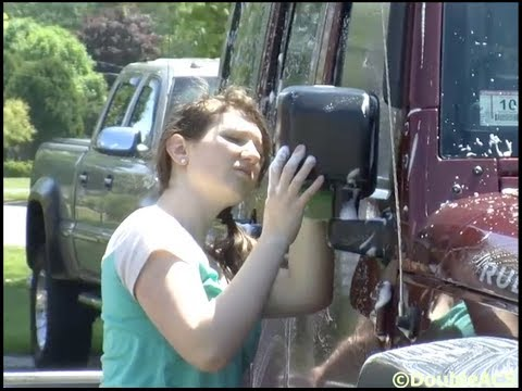 Grace Baptist Christian Academy Holds Car Wash Fundraiser - 06/09/2014