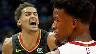 Jimmy Butler SAVAGELY TROLLS Trae Young For Calling Game Over & Ending Up LOSING To Heat In OT