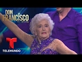 Don Francisco Te Invita  Gimansta de 82 anos impresiona bailando salsa acrobatica  Entretenimiento -