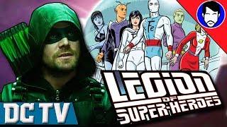 Arrow Season 6 Crossover - Could the Legion of Super-Heroes Show Up? | DCTV Recap