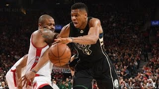 The Greek Freak Shines in Game 1 with CAREER Playoff High 28 POINTS! | April 15, 2017