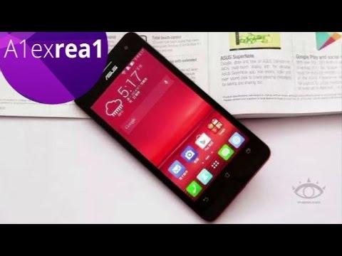 ASUS ZenFone 5 обзор стильного смартфона Intel Atom Z2580 OGS Gorilla Glass 3 review
