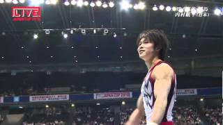 Kohei Uchimura Perfect Yurchenko 2.5 Vault - Japan Cup 2010