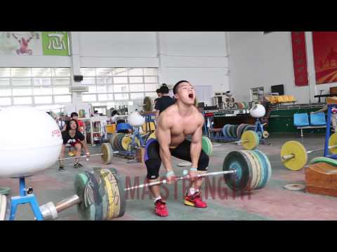 Zhao Yongchao (85kg) Sumo Clean Pull 200kg