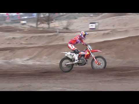 Jeffrey Herlings & Glenn Coldenhoff in Berghem op 7 Maart