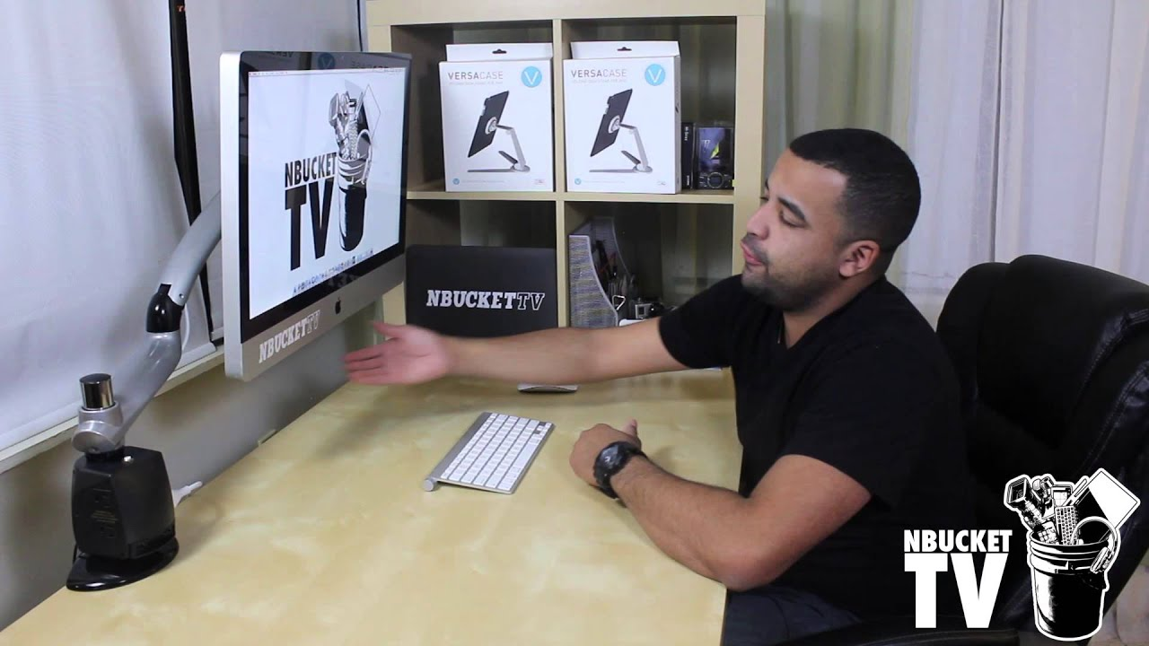 Freedom Arm For Imac By Ergotech Review Youtube