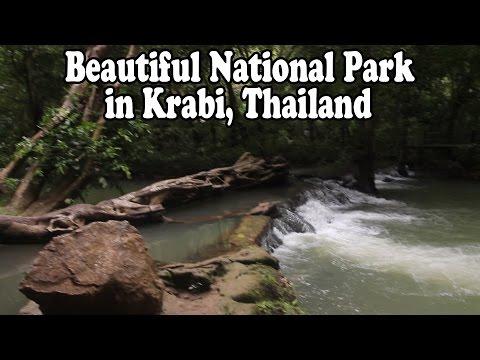 Beautiful National Park in Krabi Thailand: Thanbok Khoranee National Park อุทยานแห่งชาติธารโบกขรณี