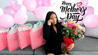 SURPRISING PREGNANT WIFE ON HER FIRST MOTHERS DAY!