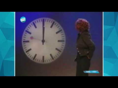 RTL 4 | Oudjaarsklok met Sanne Wallis de Vries (1996 / 1997)