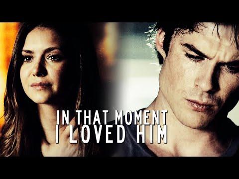 """In that moment I loved him""    Damon/Elena [6x02]"