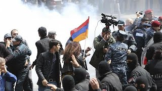 Street protests rock Armenia