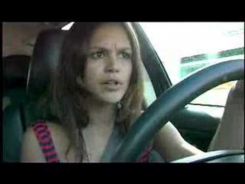 Rachel Bilson Driving Around - Last Kiss EXCLUSIVE