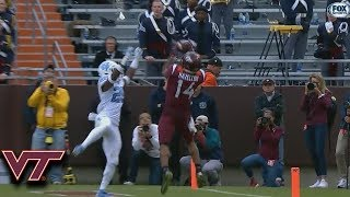 Virginia Tech's Damon Hazelton Makes Incredible Touchdown Catch