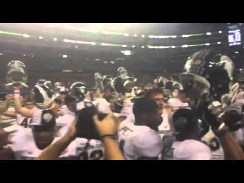 Michigan State Fight Song Post Game 2015 Cotton Bowl