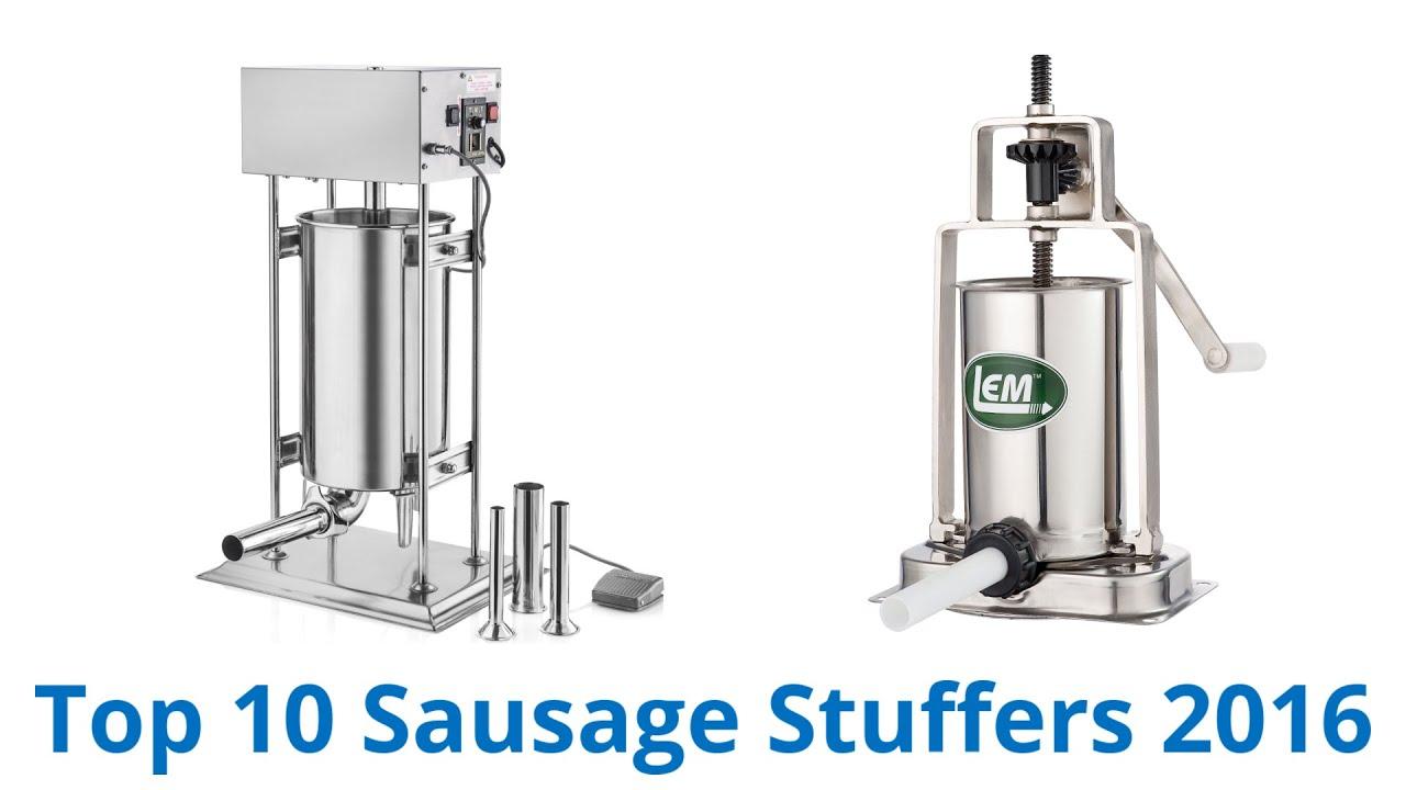 10 Best Sausage Stuffers 2016