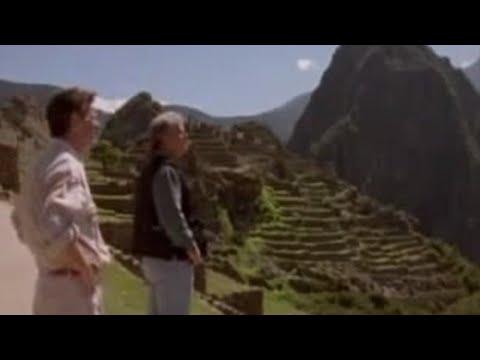 Michael Palin in Machu Picchu - BBC