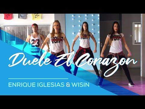 Duele El Corazon - Enrique Iglesias ft Wisin - Fitness Dance Choreography Zumba